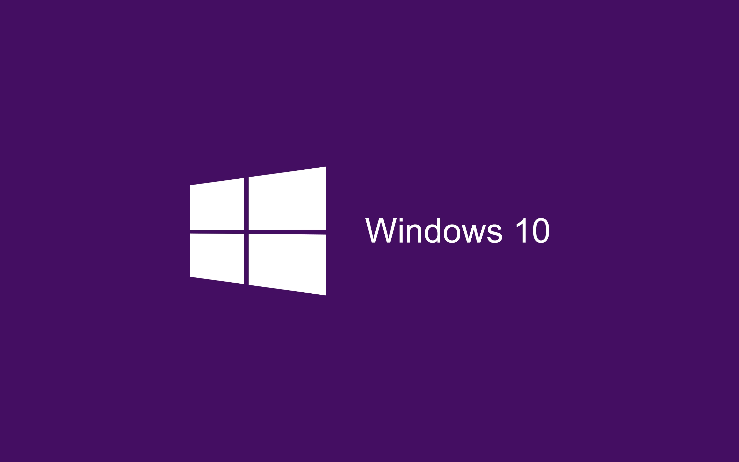 Windows 10 013 Purple, Logo, Logo