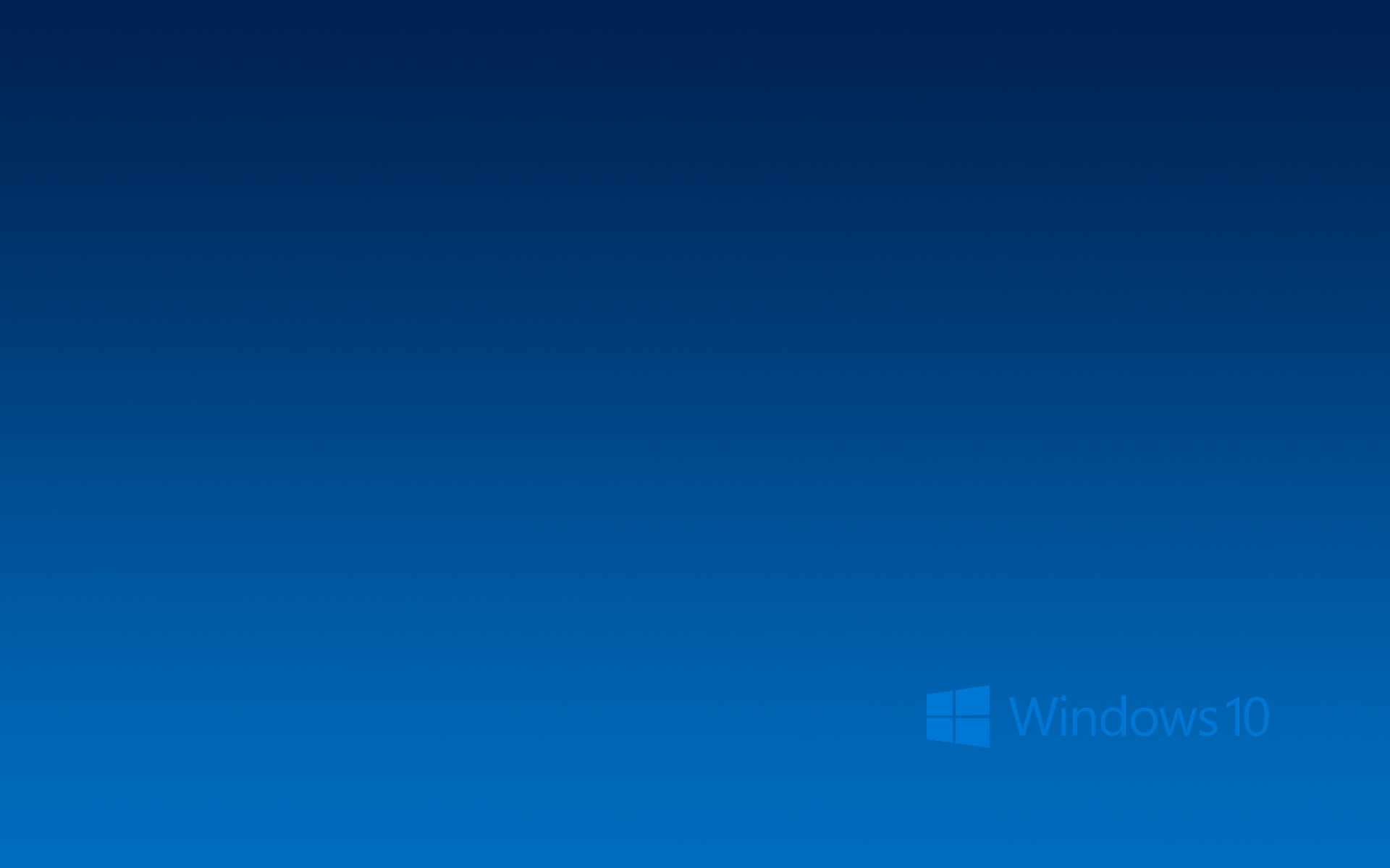 Windows 10 025 Logo, Blue
