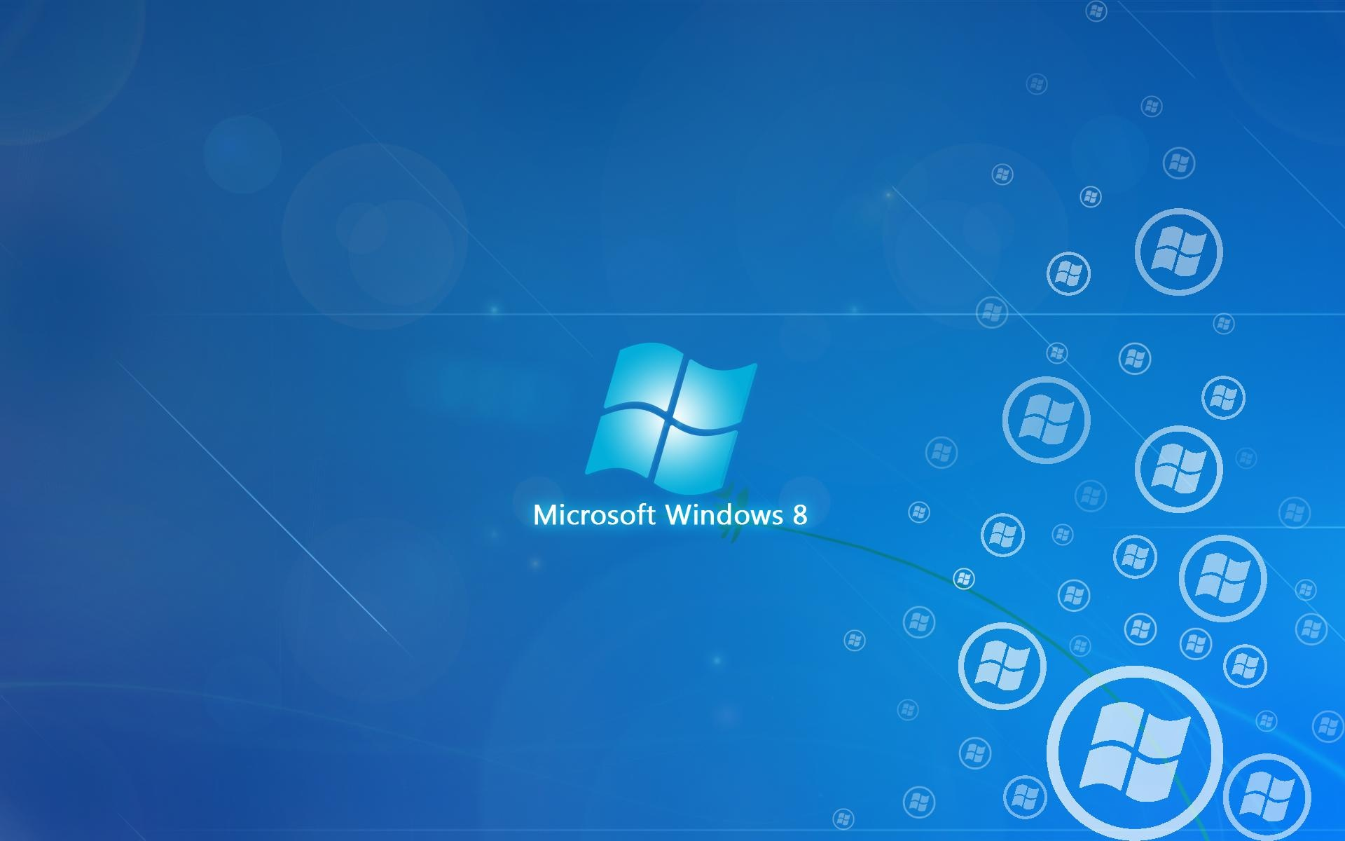 Windows 8 017 Logo, Blue