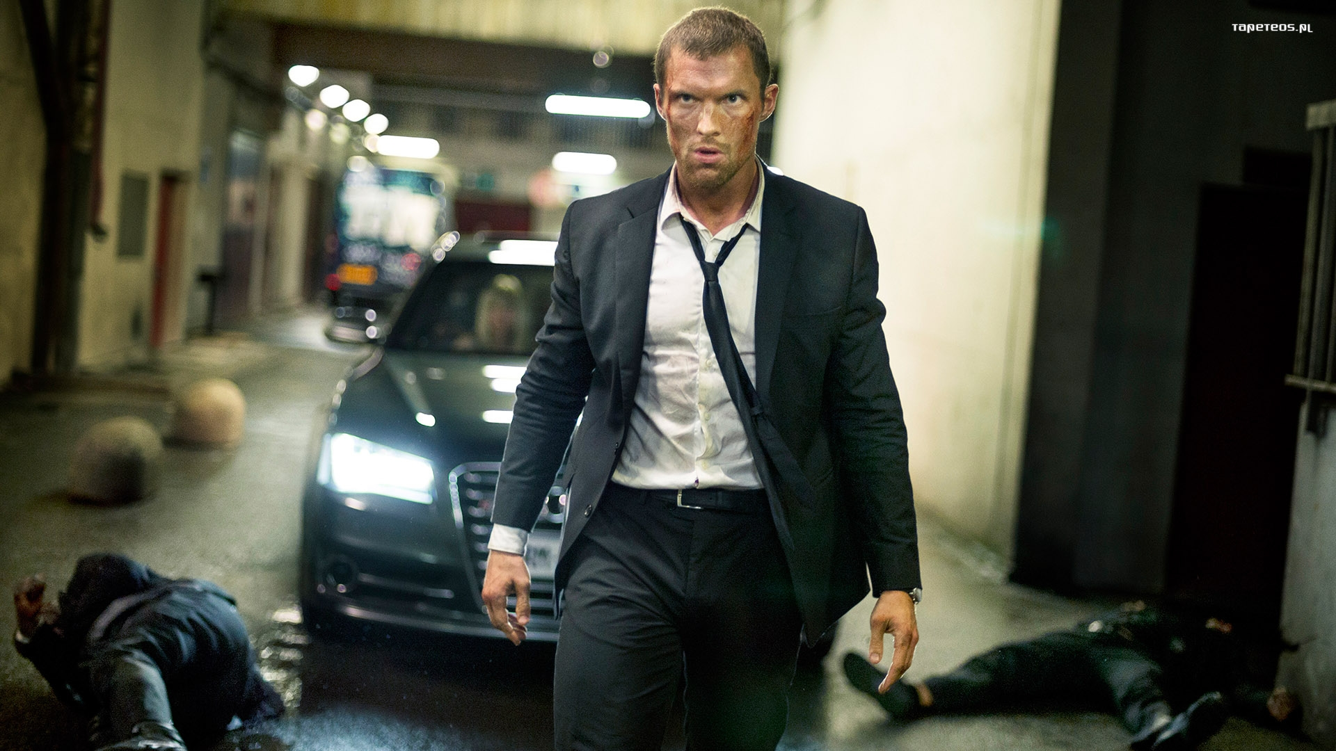 The Transporter Refueled (2015) Transporter Nowa moc 004 Ed Skrein jako Frank Martin