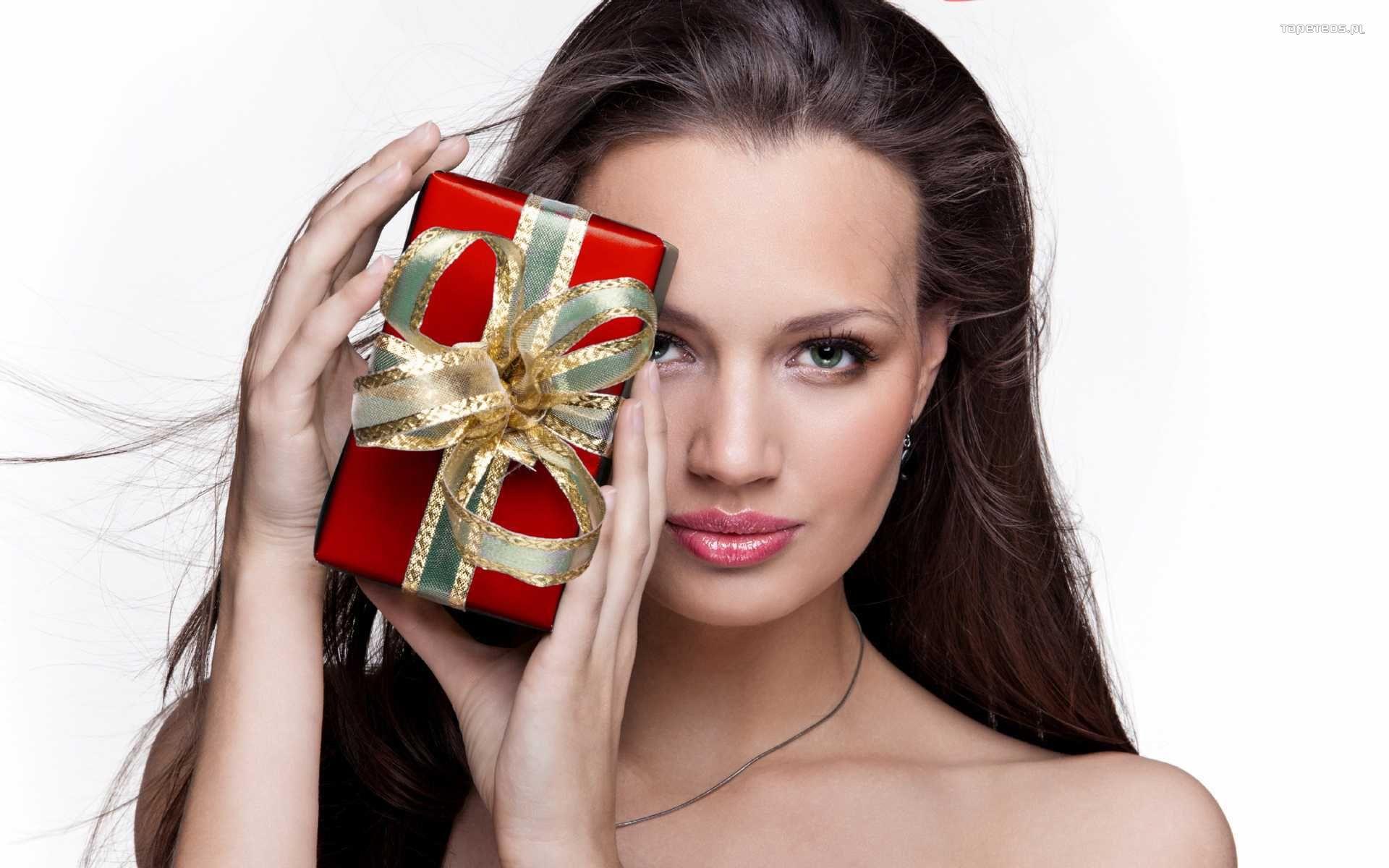 Подарок фото в эффекте