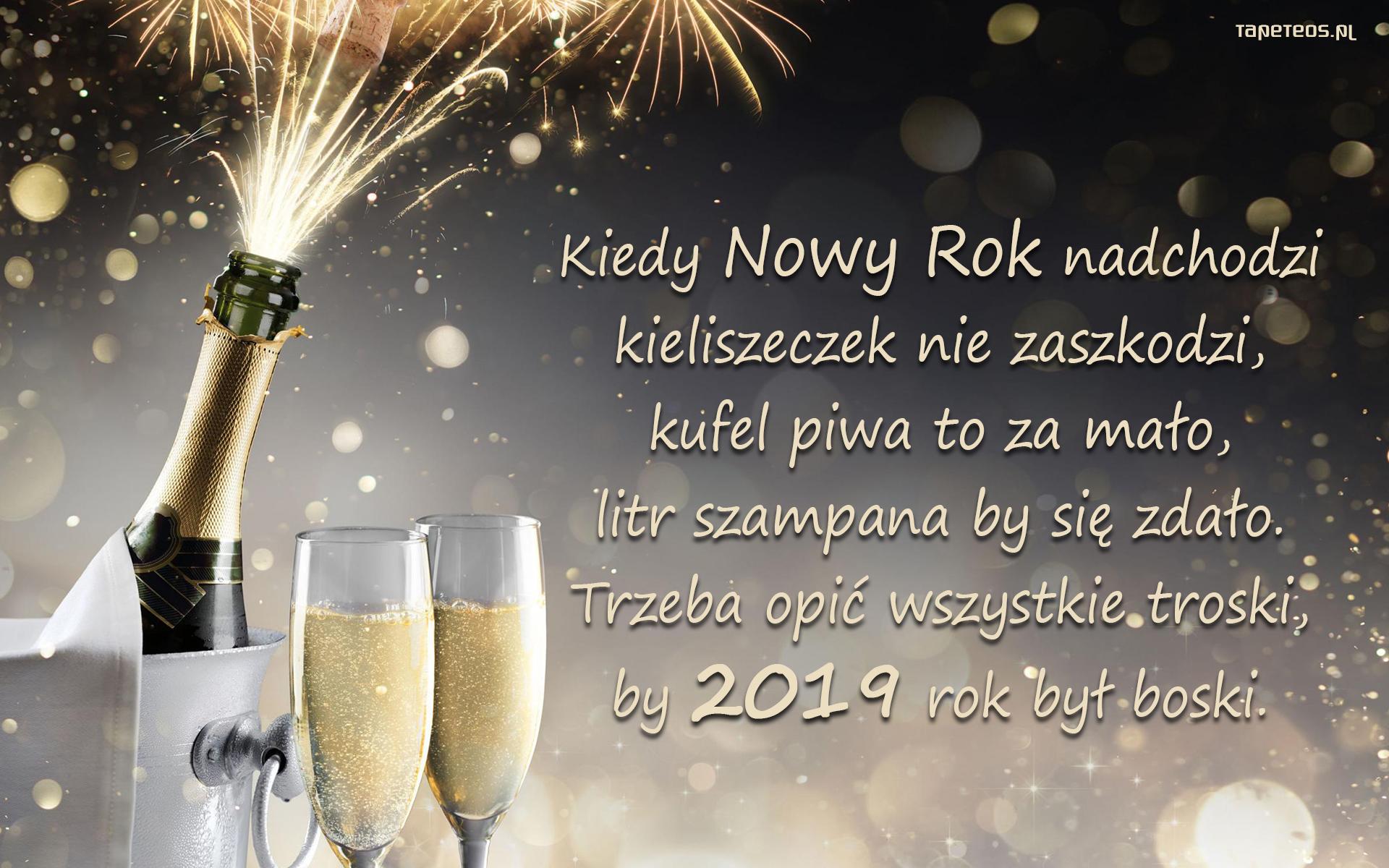 życzenia na nowy rok 2019