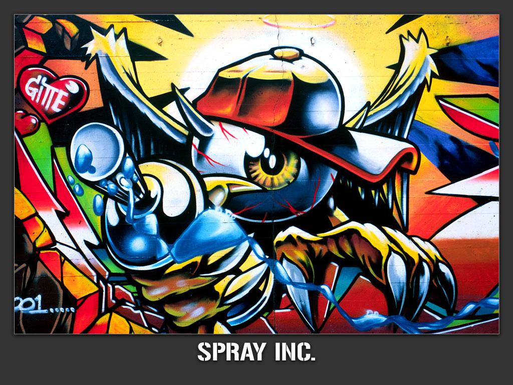 Graffiti 07 tapety na pulpit for Immagini graffiti hd