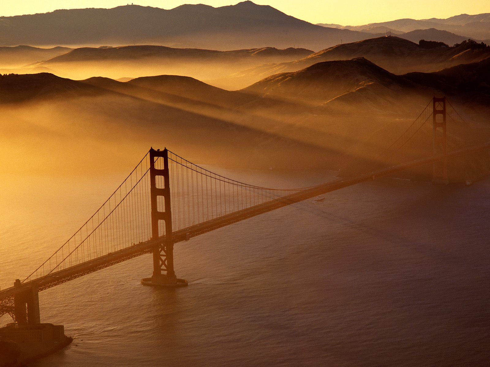 Golden Gate Bridge, Marin Headlands, San Francisco, California