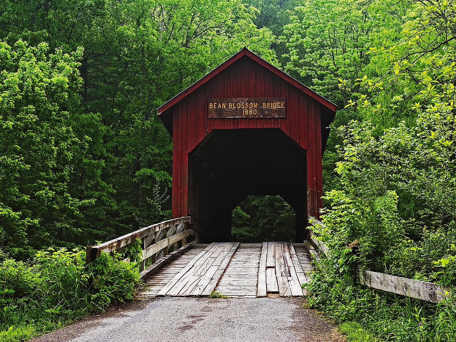 Covered Bridge, Bean Blossom, Indiana