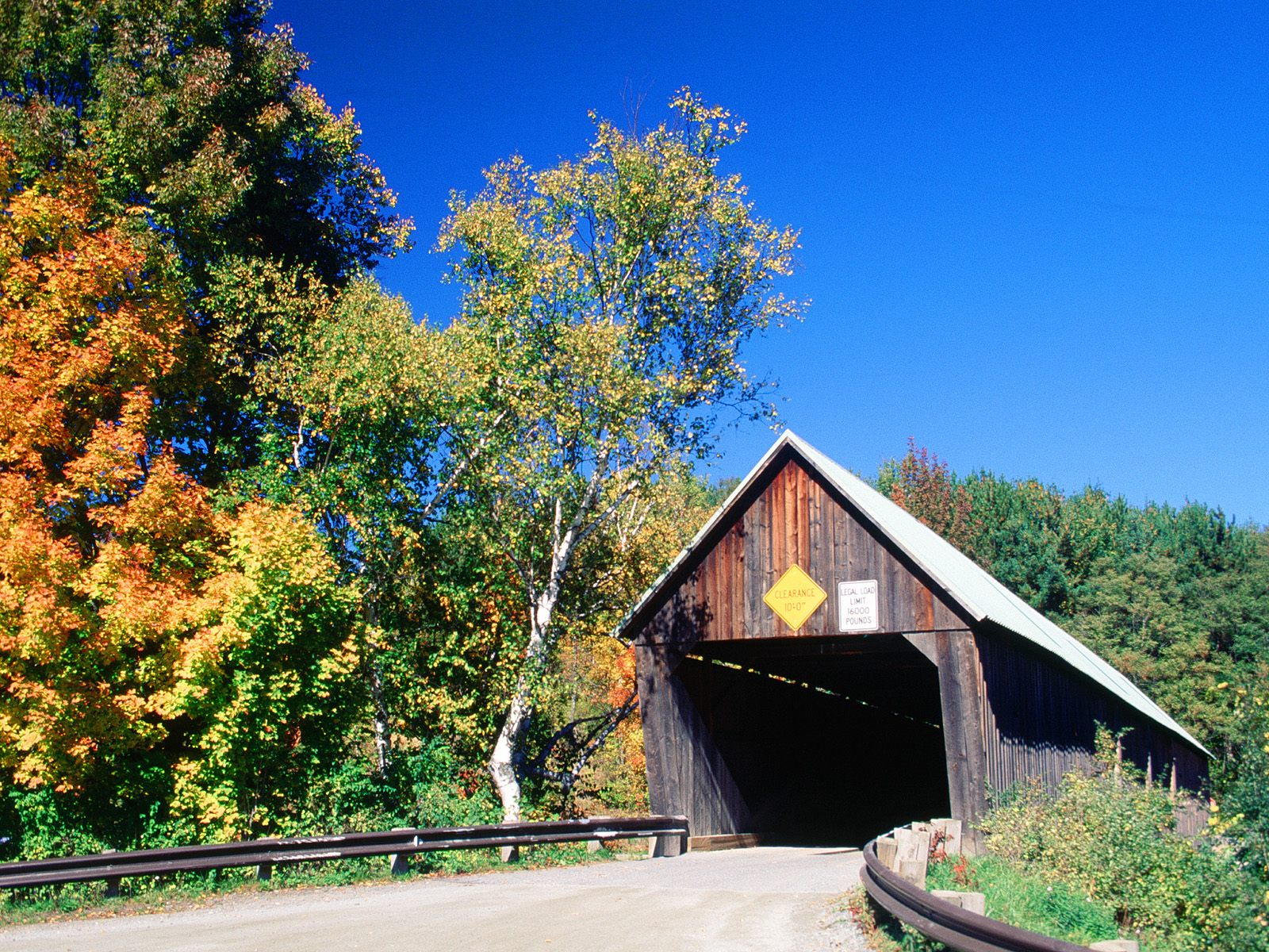 Lincoln Covered Bridge, West Woodstock, Vermont