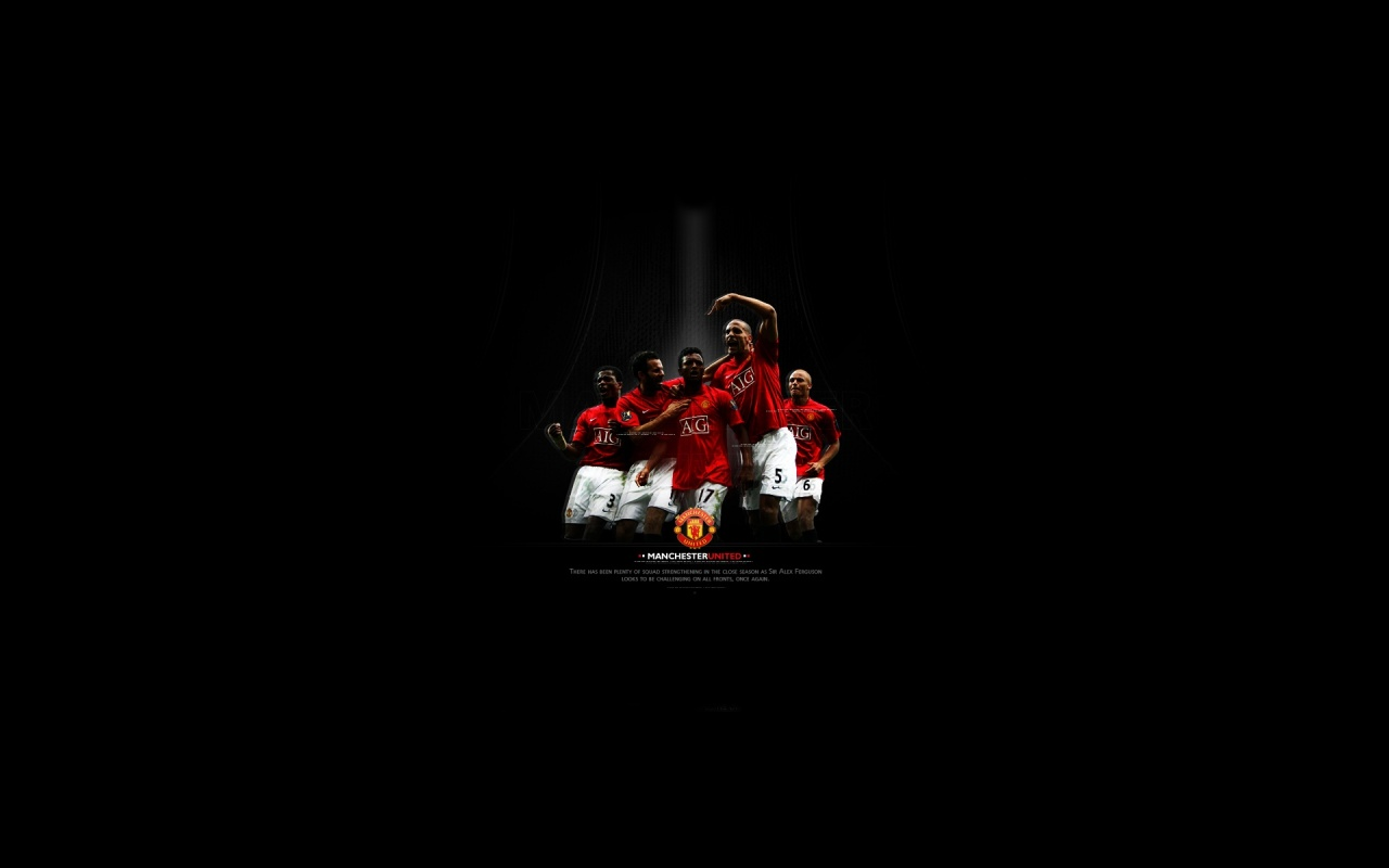 Manchester United 1280x800 014 team