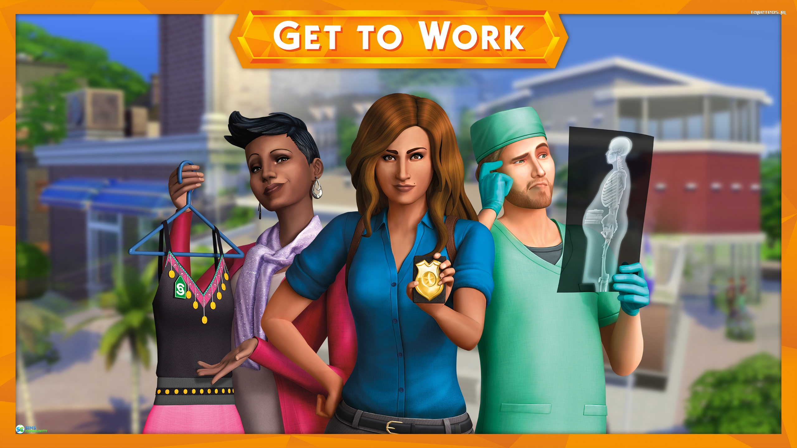 The Sims 4 Get to Work 002