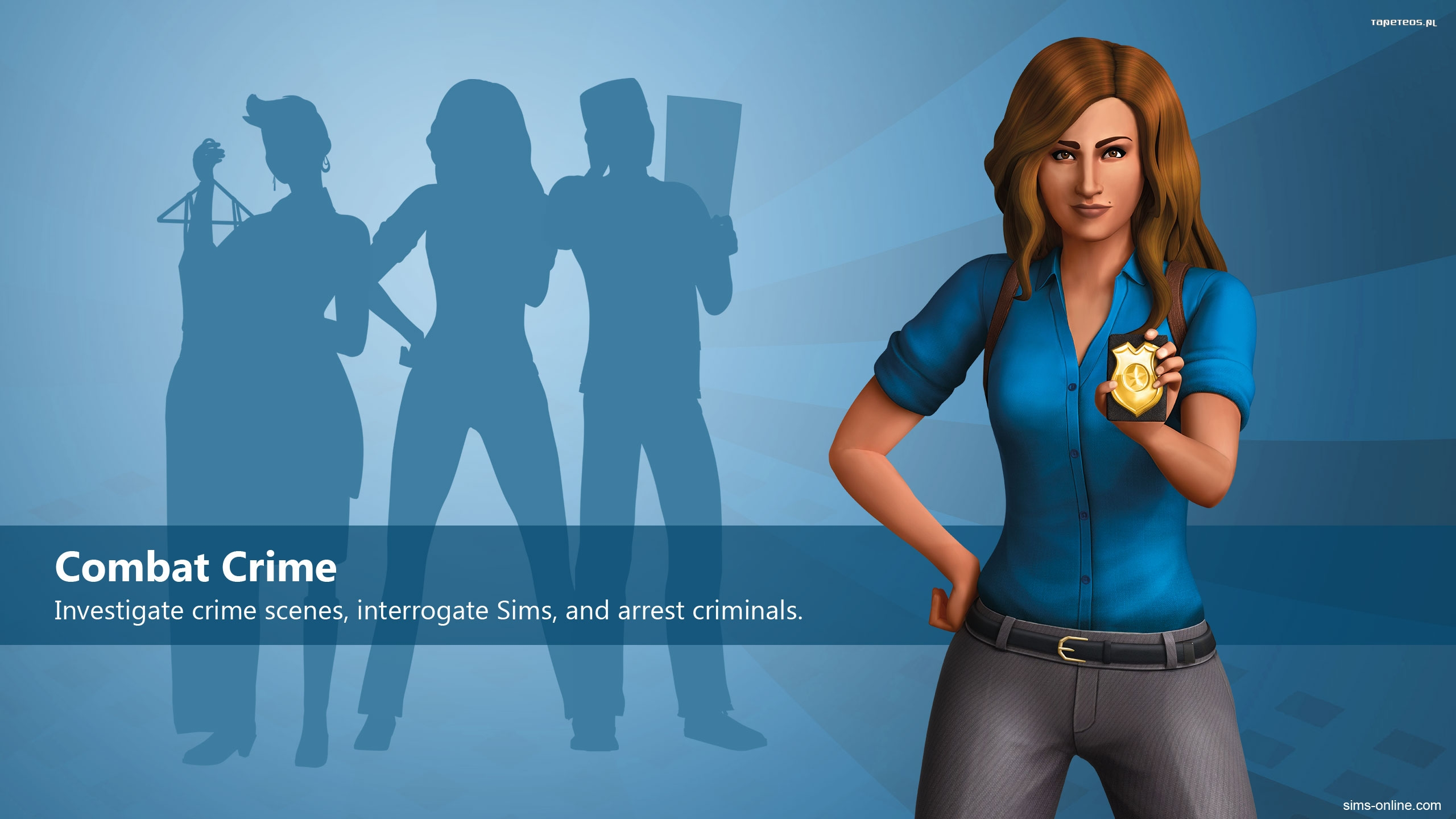 The Sims 4 Get to Work 008 Policja