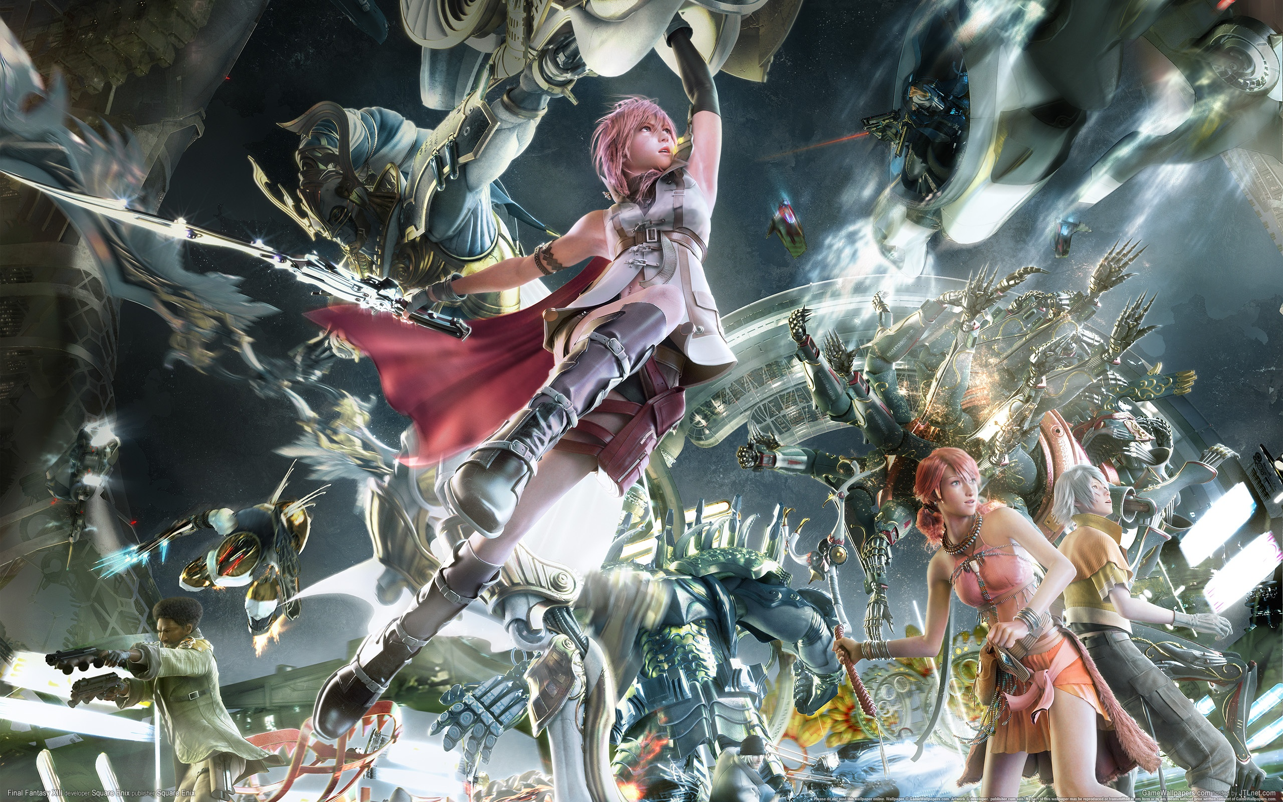 wallpaper final fantasy xiii 08 2560x1600