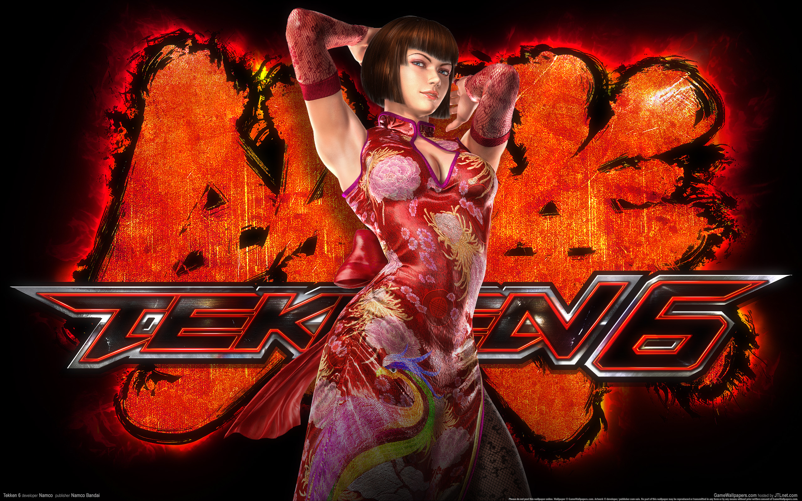 wallpaper tekken 6 04 2560x1600