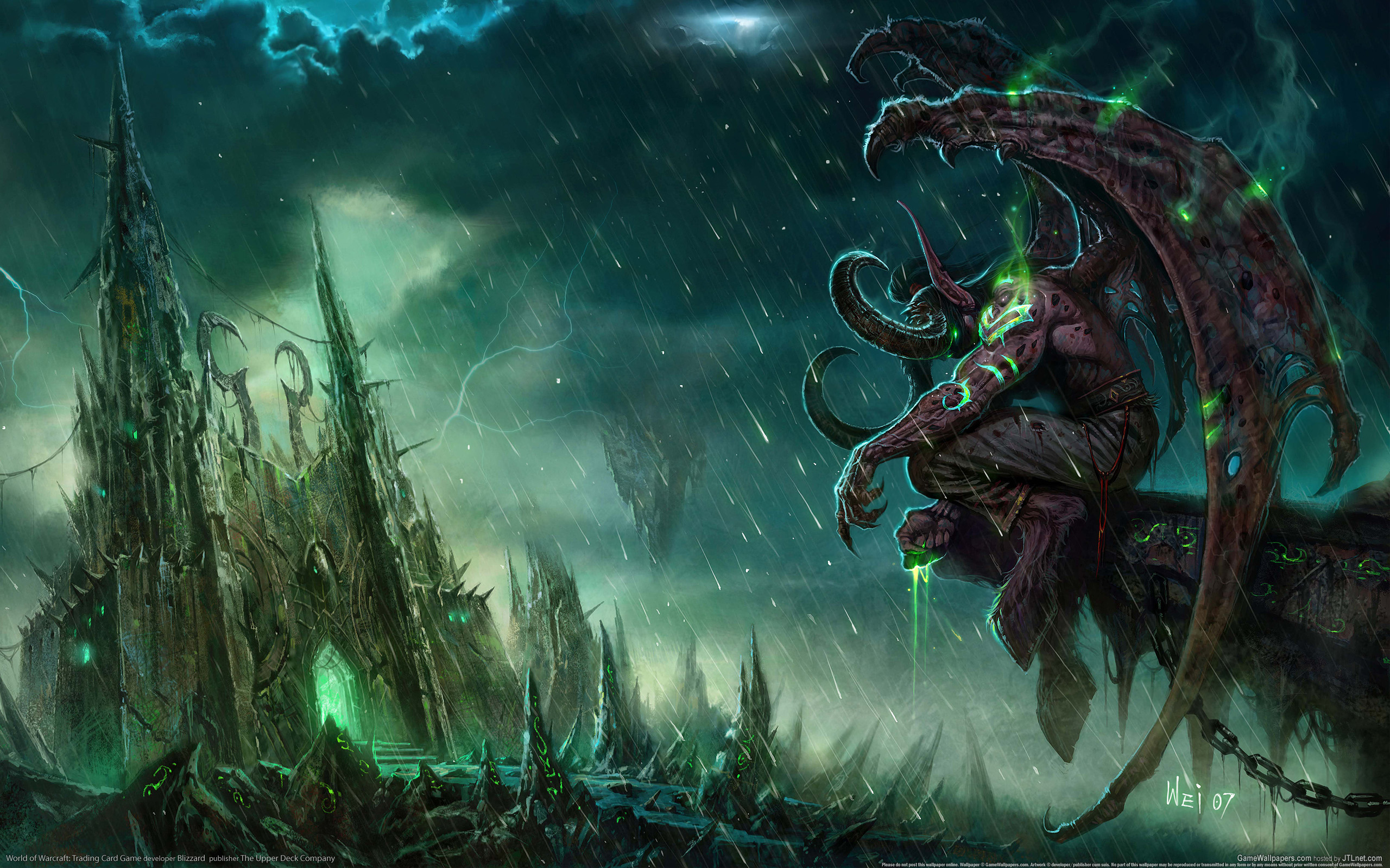 wallpaper world of warcraft trading card game 17 2560x1600