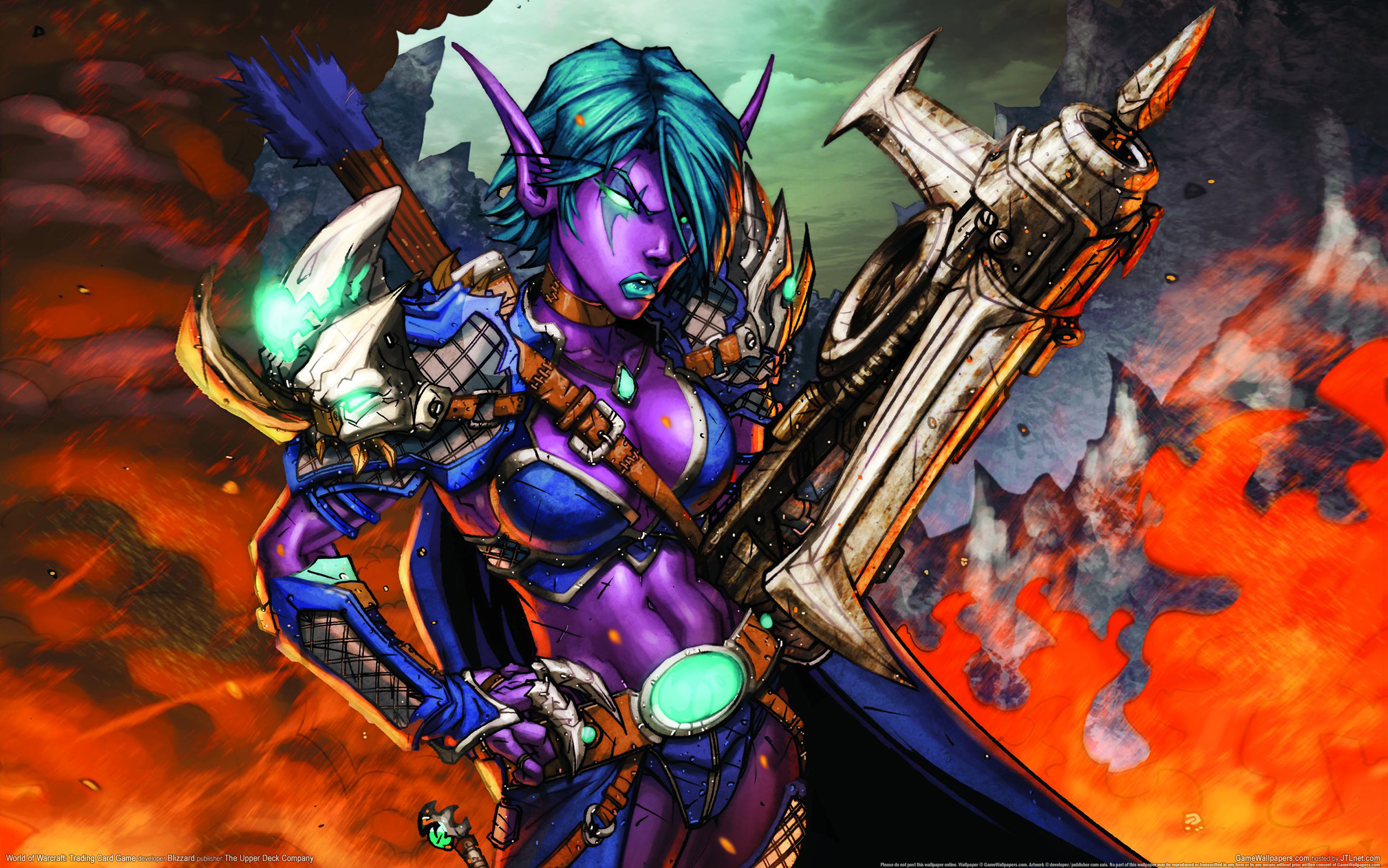 wallpaper world of warcraft trading card game 29 2560x1600