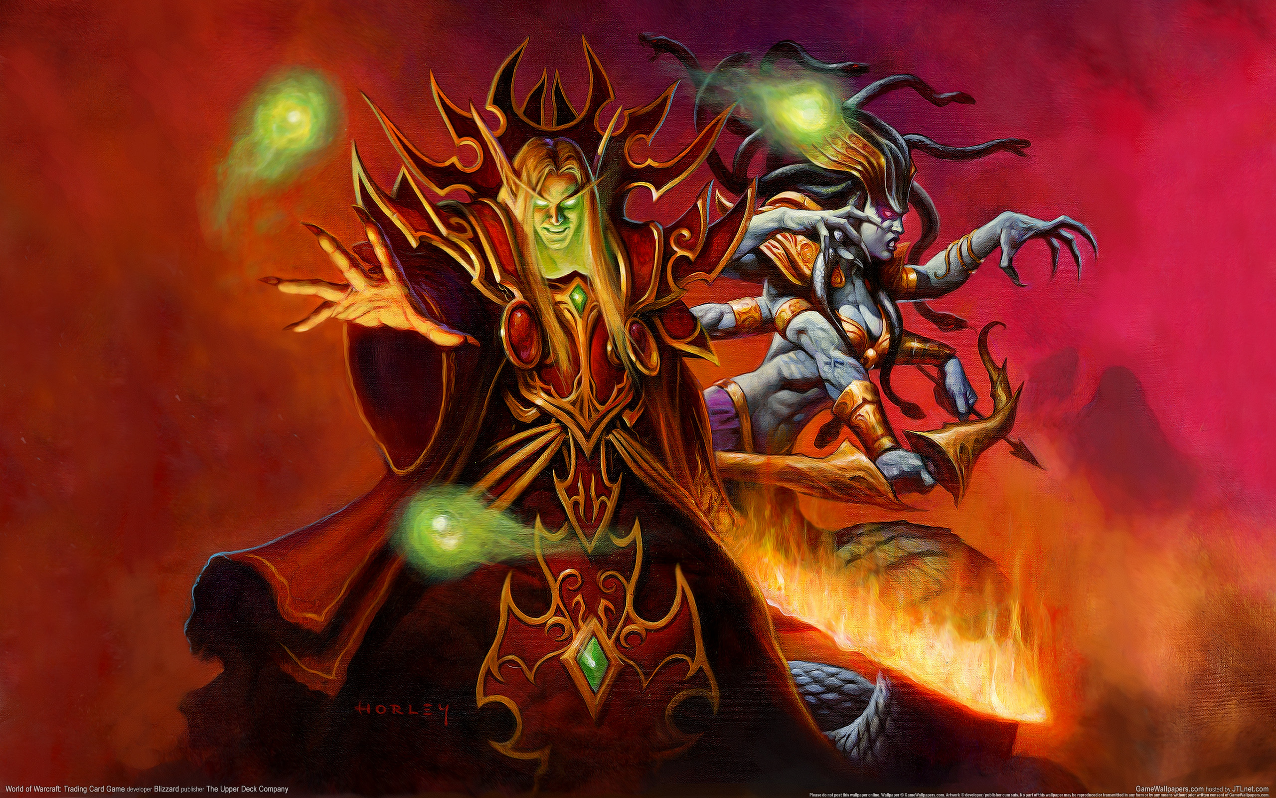 wallpaper world of warcraft trading card game 30 2560x1600