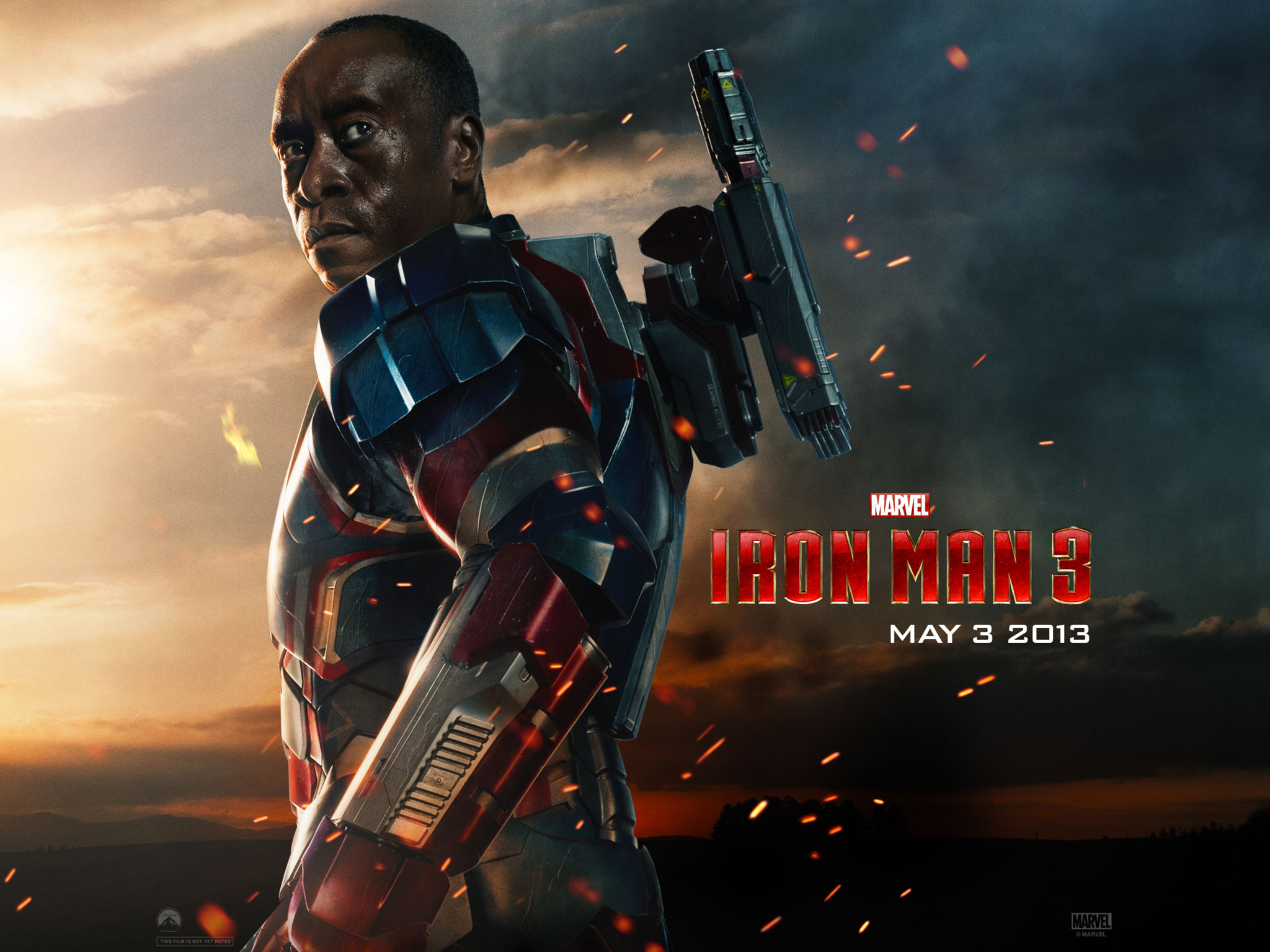 Iron Man 3 013 Don Cheadle  War MachineDon Cheadle War Machine