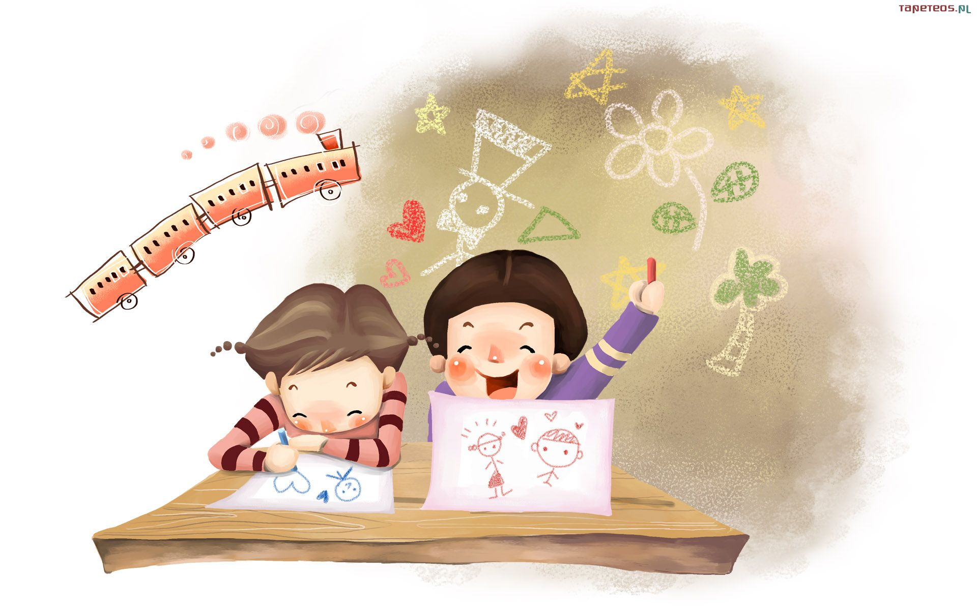Картинки дети читают книгу