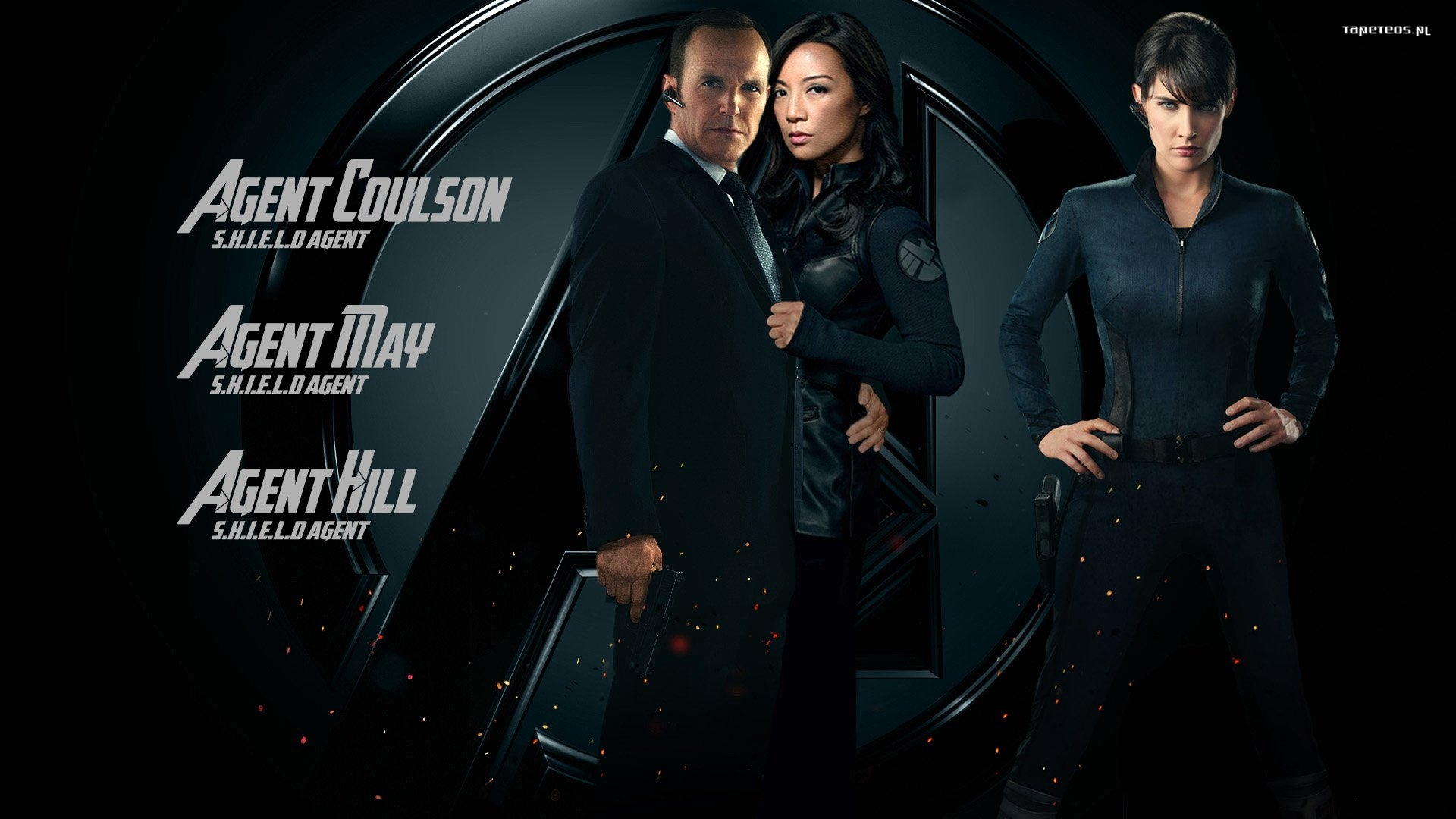 Agenci T.A.R.C.Z.Y. 007 Coulson, May, Hill