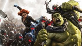 Avengers Age of Ultron 037 Scarlett Johansson, Black Widow, Hulk
