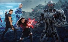 Avengers Age of Ultron 041 Scarlet Witch, Hawkeye, Quicksilver
