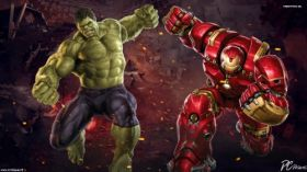 Avengers Age of Ultron 042 Hulk Vs Hulkbuster
