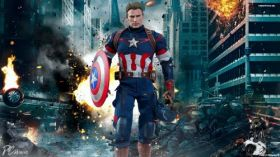 Avengers Age of Ultron 051 Kapitan Ameryka, Chris Evans
