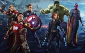 Avengers Age of Ultron 054 Iron Man, Hulk, Black Widow, Captain America, Thor, Vision (Marvel)