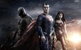 Batman v Superman Dawn of Justice 016 Bruce Wayne, Clark Kent, Diana Prince