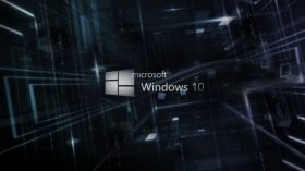 Windows 10 031 Logo, Abstract