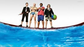 Jutro bedzie futro 2 (2015) Hot Tub Time Machine 2 003 Adam, Lou, Nick, Jacob
