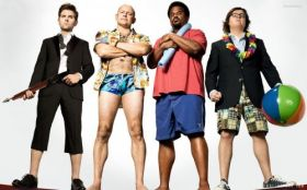 Jutro bedzie futro 2 (2015) Hot Tub Time Machine 2 004 Adam Scott, Rob Corddry, Craig Robinson, Clark Duke