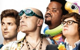 Jutro bedzie futro 2 (2015) Hot Tub Time Machine 2 005 Rob Corddry, Clark Duke, Craig Robinson, Adam Scott