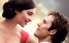 Zanim sie pojawiles (2016) Me Before You 001 Emilia Clarke jako Louisa Clark, Sam Claflin jako William Traynor