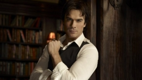 Pamietniki wampirow, The Vampire Diaries 013 Ian Somerhalder jako Damon Salvatore