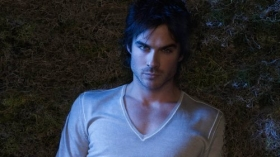 Pamietniki wampirow, The Vampire Diaries 014 Ian Somerhalder, Damon Salvatore