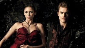 Pamietniki wampirow, The Vampire Diaries 050 Nina Dobrev, Paul Wesley