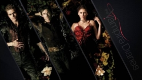 Pamietniki wampirow, The Vampire Diaries 051 Paul Wesley, Ian Somerhalder, Nina Dobrev