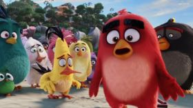Angry Birds Film (2016) 020 Matilda, Chuck, Red, Bomb