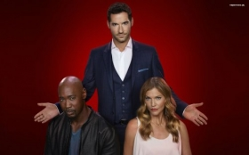 Lucyfer 031 Lucifer, Amenadiel, Charlotte