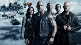 Szybcy i wsciekli 8 (2017) The Fate of the Furious 012 Michelle Rodriguez, Dwayne Johnson, Tyrese Gibson, Ludacris, Jason Statham