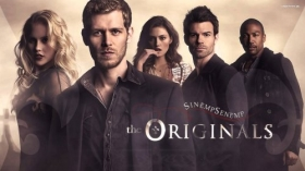 The Originals 2013 TV 004 Rebekah, Klaus, Hayley, Elijah, Marcel