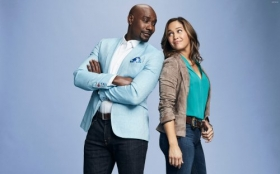 Rosewood 2015 TV 033 Morris Chestnut, Jaina Lee Ortiz