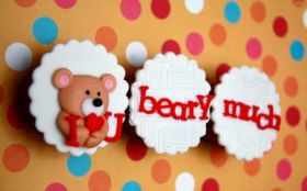 Walentynki, Milosc 1248 Teddy Bear I Love You Beary Much