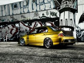 Graffiti 44 Mitsubishi Lancer Evolution
