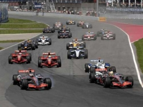 canadiangrandprix montreal start 2007