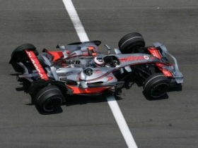 fernandoalonso mclarenmercedes indianapolis 2007