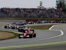frenchgrandprix magnycours 2006 start 2