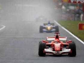 michaelschumacher ferrari hungaroring 2006 2