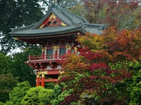 Temple Gate, Japanese Tea Garden, San Francisco, California