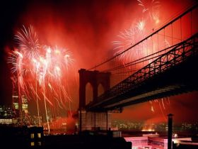 Celebration, Brooklyn Bridge, New York City