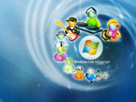 Wallpapers Windows Messenger